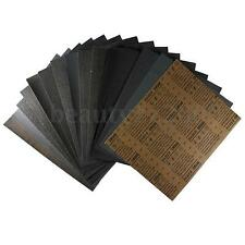 Wet and Dry Emery Sandpaper Sheets Mixed Grit Sand Paper Sanding Finishing