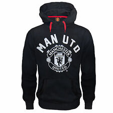 Manchester United FC Official Football Gift Mens Fleece Hoody (RRP £39.99)