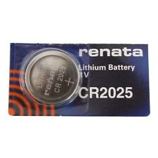 Renata CR2025 3V Lithium Coin Cell Watch Battery DL2025, ECR 2025, BR 2025