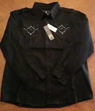 Imperious Men's Thick Casual Black Shirt  Valued at 79.00    ON SALE TODAY!!!