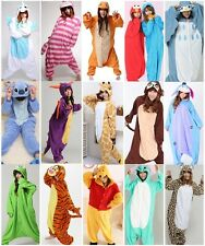 New Hot Kigurumi Pajamas Anime Cosplay Costume Unisex Adult Onesies Dress S-XL