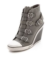 NEW ASH Thelma Stone Bootie Women's Fashion High Top Ankle Wedge Sneaker Shoes