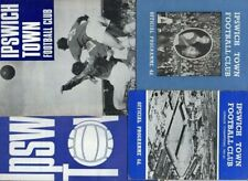 Ipswich Town HOME programmes 1960s FREE P&P UK Choose from list