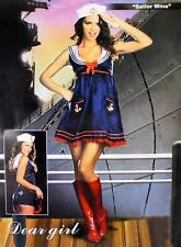 Sexy ADULT WOMEN SAILOR MINE COSTUME