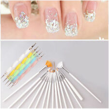 Nail Art 20PCS UV Gel Design Pen Painting Brush Set for Salon Manicure Tips Tool