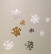 24 x Vinyl snowflake wall sticker in the style of Disney's Frozen, Elsa, Anna,
