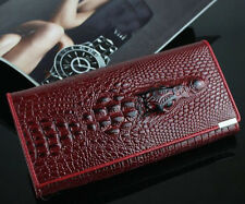 Crocodile Design PU Leather Women Wallet Lady Hand Bag Luxurious Purse