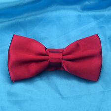 11th Doctor Who Red Bow Tie Replica Costume Prop Cos Matt Smith Adult/Kids Gifts