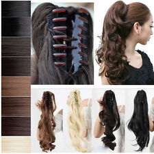 2014 fancy dress Ponytail Hair Extensions Claw/drawstring Clip In Hairpiece HG09