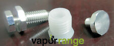 King Silver Plated Pin Contact w/Insulator Mechanical Mod Parts