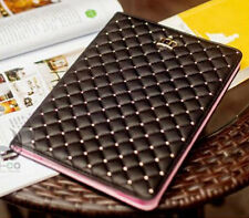 Fashion Leather Crown Design Stand Smart Case Cover for Apple ipad Sleep/Wake up