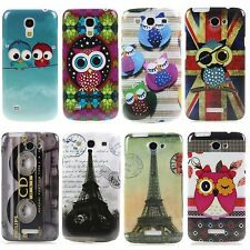 Schutz Hülle für Apple Samsung Sony HTC LG Hard Case Cover Etui Design + Stift