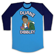 CAT RED DWARF UNOFFICIAL FUNNY DUANE DIBBLEY 3/4 BASEBALL T SHIRT ALL SIZES COLS