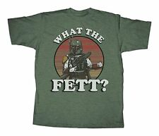 Star Wars Boba Fett What the Fett Adult T-Shirt - Green