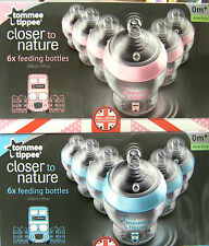 "TOMMEE TIPPEE CTN LIMITED EDITION ""BEST OF BRITAIN"" DECORATED BOTTLES X6 260ML"