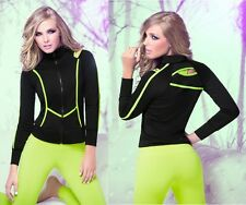 Babalu Fashion Super HOT Jacket Women's Fitness Gym Clothes Activewear