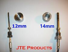 Commercial Truck weld bung / fitting for Diesel exhaust temperature sensors EGT