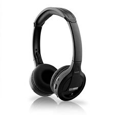 New Wireless Over The Head True Stereo Bluetooth Headset - Black For Cell Phones