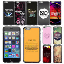 "Bible Verse Word For Apple iPhone 6 PLUS 5.5"" inch Case Plastic Hard Phone Cover"