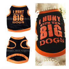 Cute Summer Pet Puppy Small Dog Cat Pet Clothes Vest T Shirt Apparel Hot