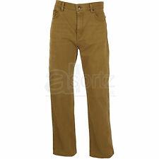 Mens Marks & Spencer Blue Harbour Stretch Cotton Smart Casual Brown Trousers