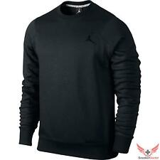 New 2014 Mens Nike Air Jordan 23/7 Crewneck Sweatshirt Black/Black SZ M ~ 3XL