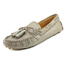 Coach Nadia Womens Leather Boat Shoes