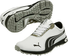 Puma Biofusion Spikeless Golf Shoes 187090-01 White/Black Men's New