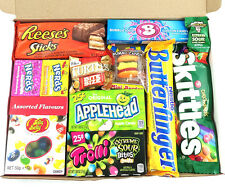 American Sweet Hamper Candy/Chocolate/Jelly Belly Christmas/Birthday Gift v1