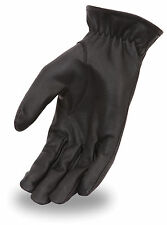 First Classics Men'sUnlined Classic Cruising Leather Motorcycle Pair Glove