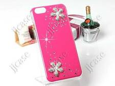 Bling Flower and Crystal Glossy Cell Phone Case Cover for iPhone 6 6S 4.7""