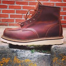 "RED WING HERITAGE CLASSIC LIFESTYLE 6"" MOC 1907 COPPER US MEN'S 8-12"