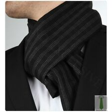 NEW ITALIAN DESIGNER BLACK BEIGE or GREY CHECKED CASHMERE SCARF
