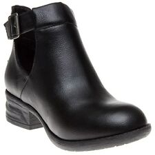 New Womens Rocket Dog Black Darye Synthetic Boots Ankle Buckle