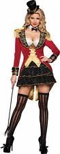 BIG TOP TEASE ADULT WOMENS COSTUME Seductive Sexy Theme Broadway Party Halloween