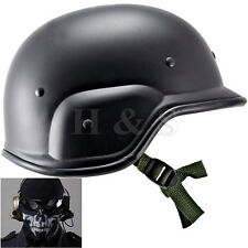 M88 SWAT Tactical Military Army PASGT Helmet Airsoft Painball Skull Mask Set