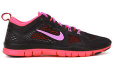 Nike Free 5.0 TR FIT 4 629496 011 New Womens Black Hyper Punch Running Shoes
