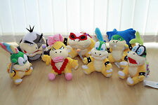 NEW SUPER MARIO BROS, PLUSH KOOPLINGS - MORTON, LEMMY, ROY, IGGY, LUDWIG, WENDY