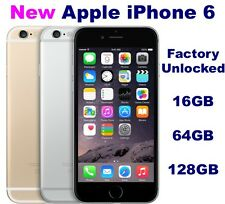 *NEW* Apple iPhone 6 (Latest Model) - 16 64 128 GB Factory Unlocked GSM A1549