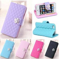 New Wallet Leather Card Holder Flip Case Cover For Apple iphone 5/5S fashion