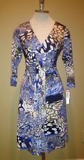 NWT Tahari ASL Charlene printed dress $124