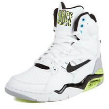 """Nike Mens Air Command Force """"Billy Hoyle"""" White/Black-Wolf Grey-Volt 684715-100"""