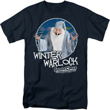 Santa Claus Is Coming To Town Winter Warlock Licensed Adult Shirt S-3XL