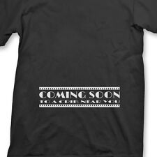 Coming Soon movie Funny T-shirt Maternity Humor Baby Pregnancy Tee Shirt
