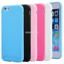 "Soft Jelly Slim Skin Silicone Gel TPU Cover Case for iPhone 6 4.7"" Colorful"