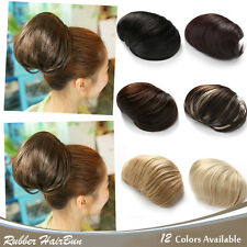 OneDor Synthetic Clip in Big Hair Bun Ponytail Extension Chignon Hair Pieces wig