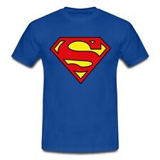 Superman Cartoon Comic Superheld Fun T-Shirt Herren - Grössen S-5XL