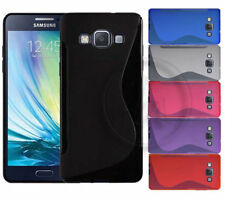 NEW S LINE WAVE GEL CASE COVER FOR SAMSUNG GALAXY MODELS + SCREEN GUARD