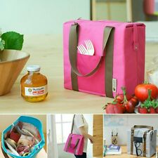 Thermal Insulated Waterproof Tote Shoulder Picnic Cooler Lunch Storage Box Bag