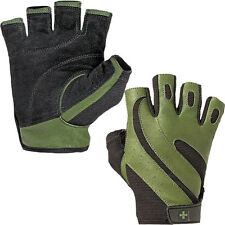 Harbinger 143 Pro Lifting Gloves - Hunter Green